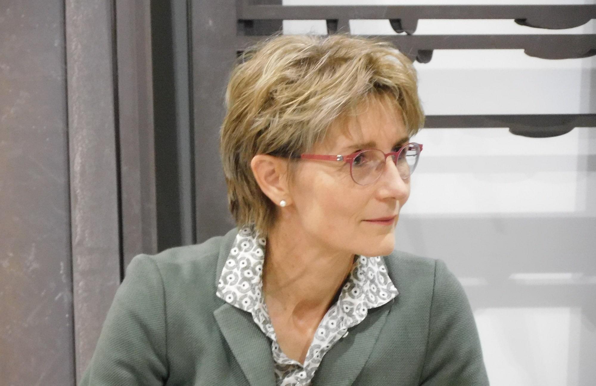 Dr. Brigitte Bailer, Nationalratskandidatin auf der FDP Hauptliste